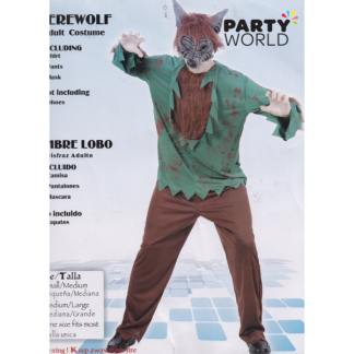 Warewolf Costume Adult - One size fits most