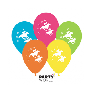 Horse Racing Assorted Balloons (25)