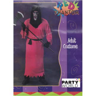 Red Phantom Adult Costume(one size)
