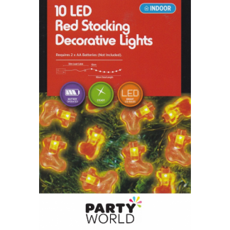 Red Stockings LED Lights (10)