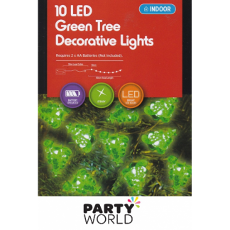 Christmas Tree Green LED Lights (10)
