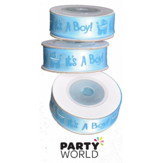 It's a Boy Printed Ribbon