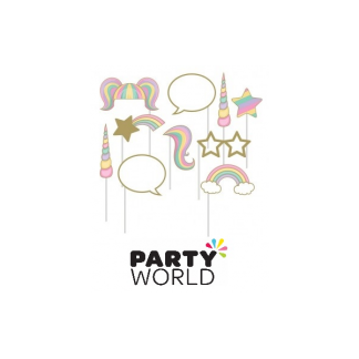 Unicorn Sparkle Photo Booth Props (10)