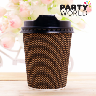 Paper Coffee On The Go Cups With Lids (10)
