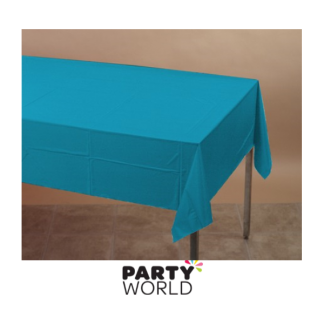 Turquoise Rectangle Table Cover