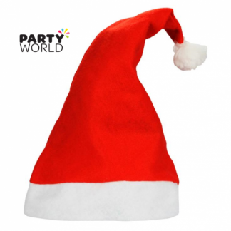 Soft Santa Hat For Adult