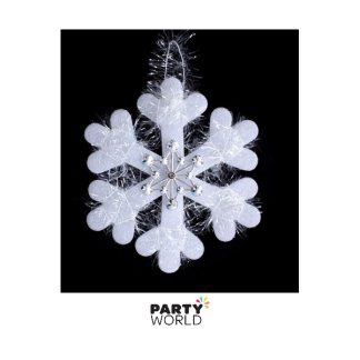 Hanging Snowflake Decoration 15cm