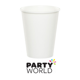 White Paper Cups 266ml (24)
