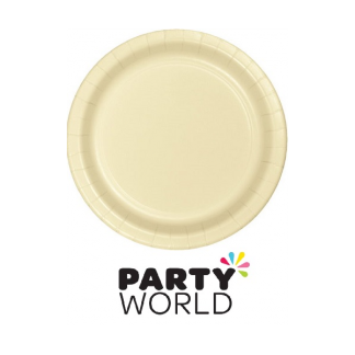Ivory Paper Lunch Plates (24)