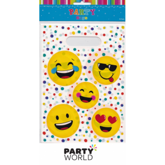 Emoji Smiley Face Loot Bags (10)