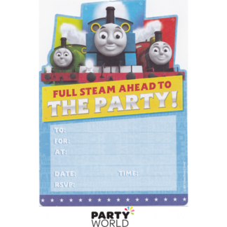 Thomas & Friends Invitations (16)