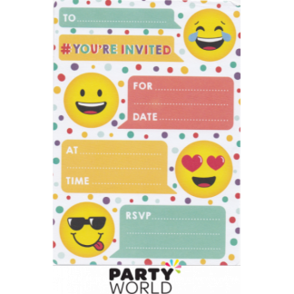 Emoji Smiley Invitations (16)