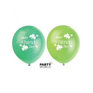 Happy St Patrick's Day Latex Balloons (8)