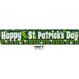 Happy St Patrick's Day Banner