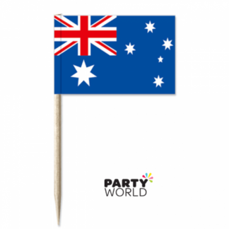 Australian Flag Picks (500)