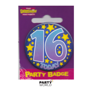 Birthday Badge Today 16th