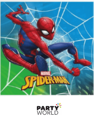 spiderman napkins