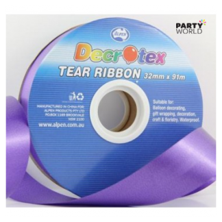 Purple Tear Ribbon 91m