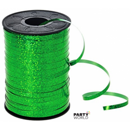 Holographic Green Curling Ribbon 225m