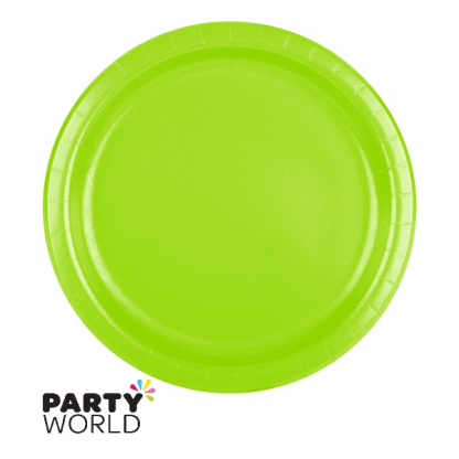 "Fresh Lime 9"" Paper Plates (24)"