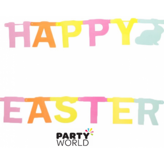 Happy Easter Letter Banner Kit