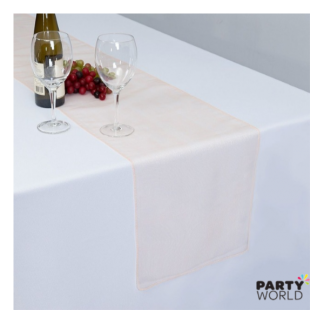 Peach Organza Table Runner / Chair Tie (30 x 274 cm)