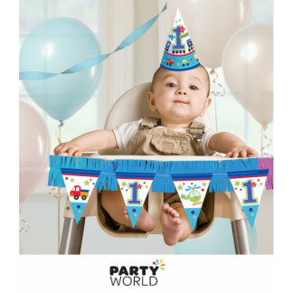 One Wild Boy 1st Birthday High Chair Kit