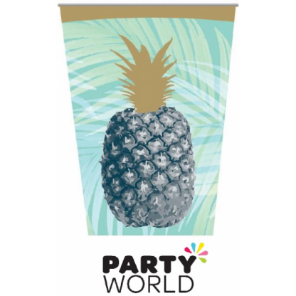 Tropical Party Paper Cups (8)