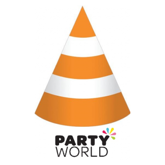 Construction World Party Cone Hats (8)