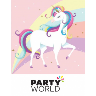 Unicorn & Rainbow Party Lunch Napkins (20)