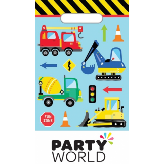 Construction World Party Loot Bags (8)