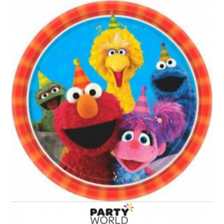Sesame Street Paper Plates 9in (8)