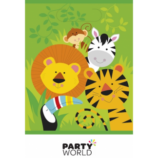 Animal Jungle Party Loot Bags (8)