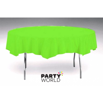 Citrus Green Round Tablecover