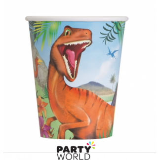 Dinosaur Paper Cups (8)