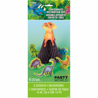 Dinosaur Centerpiece Decoration Set (6 pcs)