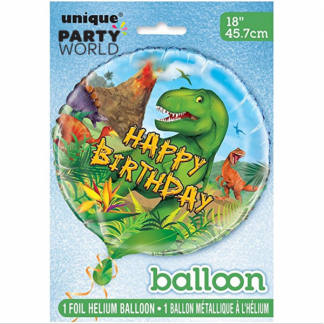 Dinosaur Foil Balloon 18in