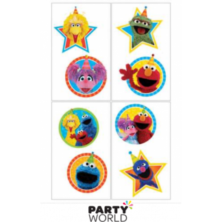 Sesame Street Temporary Tattoos Squares (8)