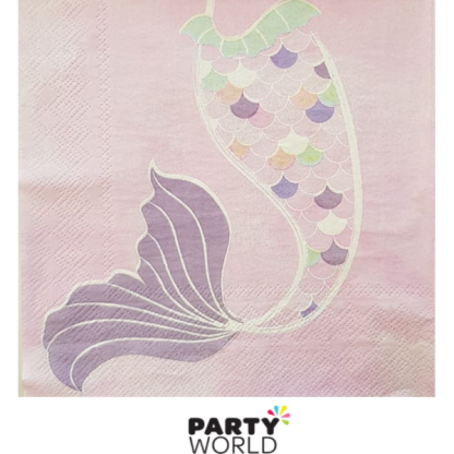 Mermaid Party Luncheon Napkins (20)