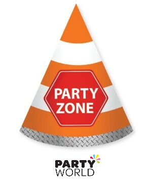 party zone paper hats