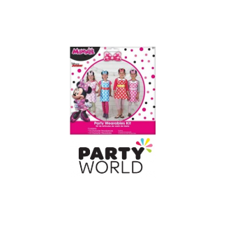 Minnie Mouse Party Wearables Kit - Aprons & Headpicees