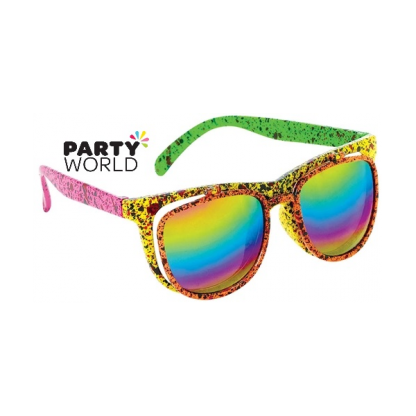 Totally 80s Neon Flip-Up Shades