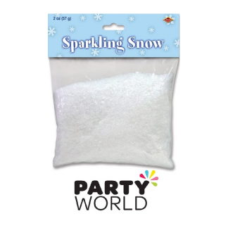 Sparkling Synthetic Snow