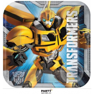 Transformers Square Paper Plates 7in (8)