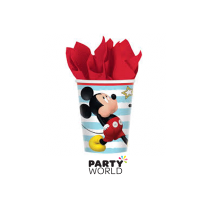 Mickey On The Go Paper Cups (8)