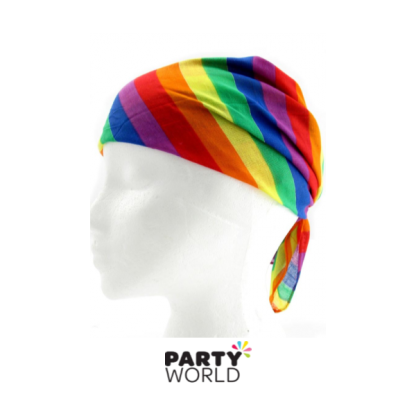 Rainbow Cotton Bandana