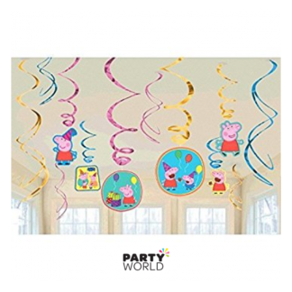Peppa Pig Swirl Decorations (12)