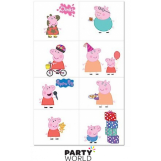Peppa Pig Square Tattoo (8)