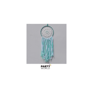 Dream Catcher With Green Ribbon