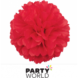 16in Puff Ball - Red